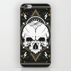 Skull design iPhone & iPod Skin