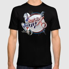The Barber Factory Black MEDIUM Mens Fitted Tee