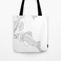 fish bones Tote Bag