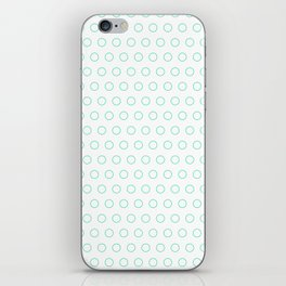 EMPTY DOT ((emerald)) iPhone Skin