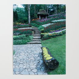 Mae Fah Luang Arboretum (Botanical Gardens) Poster