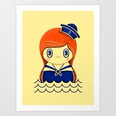 Navy serie 01 Art Print