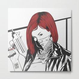 Redheads do it better ;) Metal Print