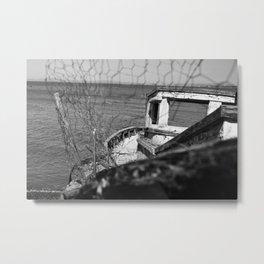 Run aground Metal Print