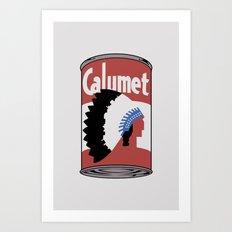 Calumet Art Print