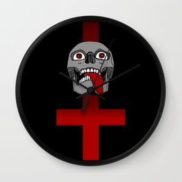 Impale the Falsely Righteous Wall Clock