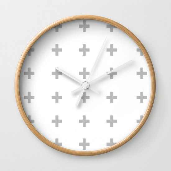 +++ (Gray) Wall Clock