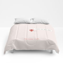 I Wish You Were Here Comforters