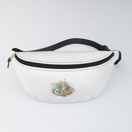 Mechanical Seahorse Fanny Pack