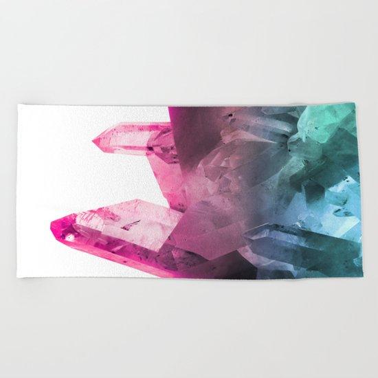 Rainbow Gems Beach Towel
