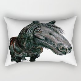 Horse Selfie! Rectangular Pillow