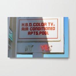 Color TV Metal Print