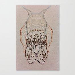 Lapse face Canvas Print