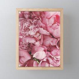 Pink Flowers Framed Mini Art Print