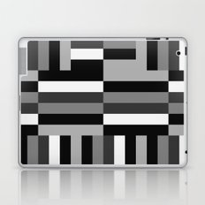 Black White and Gray Laptop & iPad Skin