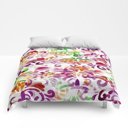 Dappled Pattern 2 Comforters