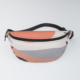 Abstract Landscape 12 Portrait Fanny Pack