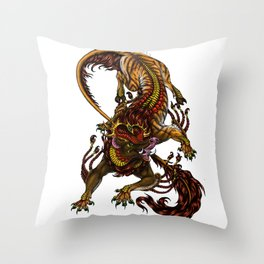 The Dream Eater Throw Pillow