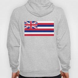 Hawaiian Flag, Official color & scale Hoody