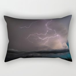 Spring Lightning Rectangular Pillow