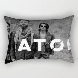 Atom Press Shot Rectangular Pillow
