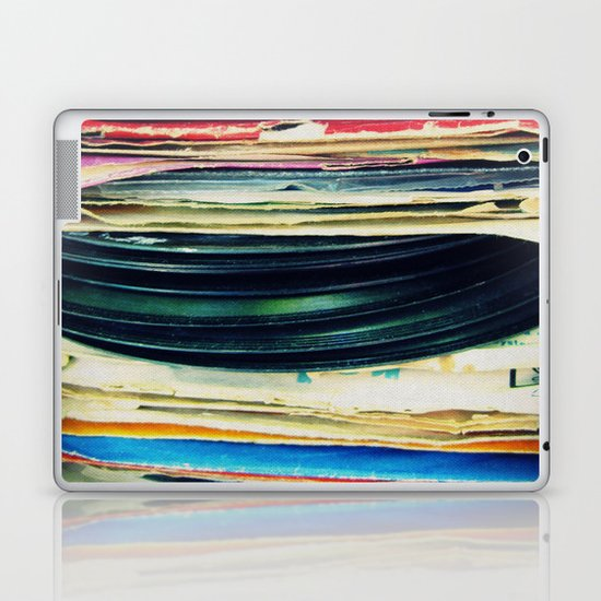 put your records on Laptop & iPad Skin