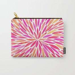 Watercolor Burst – Pink Ombré Carry-All Pouch
