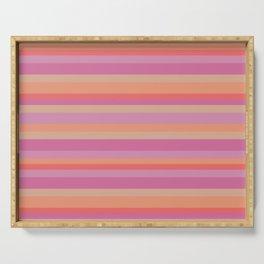 Eastern Dreams Stripes Pattern Serving Tray