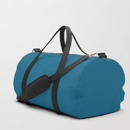 Dunn & Edwards 2019 Curated Colors Blue Velvet (Deep Blue) DET559 Solid Color Duffle Bag