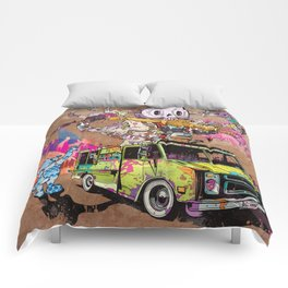 Pusher Carcophagus Comforters