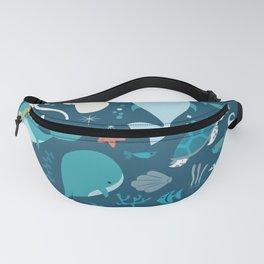 Sea creatures 004 Fanny Pack