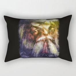Night Walk Rectangular Pillow