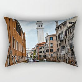 Leaning Venice Rectangular Pillow