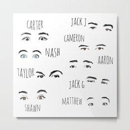 Those Eyes... Metal Print