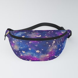 Zodiac - Watercolor Dark Fanny Pack