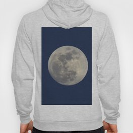 Super Blue Moon 2018 sunrise. Blue sky at sunset Hoody