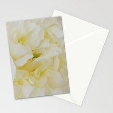 Cream peony Stationery Cards