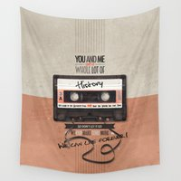 history Wall Tapestries featuring History by Art of Nanas