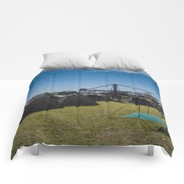 Glamping Camping Comforters