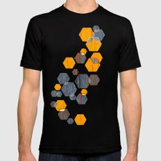 construct hex v3 LARGE Black Mens Fitted Tee