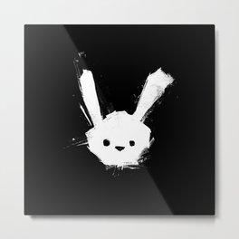 minima - splatter rabbit  Metal Print