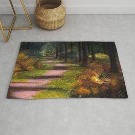 Stourton Woods, original artwork Rug