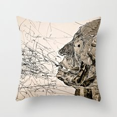 Penser : Expression. Throw Pillow