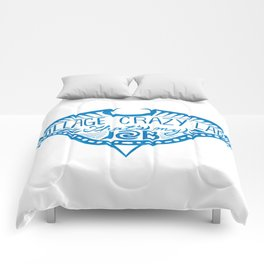 Village Crazy Lady Comforters