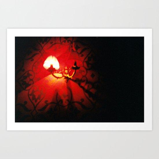 White Light Art Print