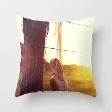 Country Ballet Throw Pillow