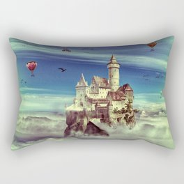 Laputa - Castle in the Sky Rectangular Pillow