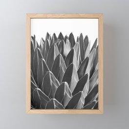 Agave Chic #2 #succulent #decor #art #society6 Framed Mini Art Print