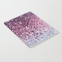 Unicorn Girls Glitter #6 #shiny #pastel #decor #art #society6 Notebook