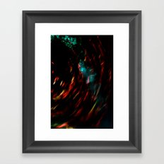 Abstract goldfish Framed Art Print